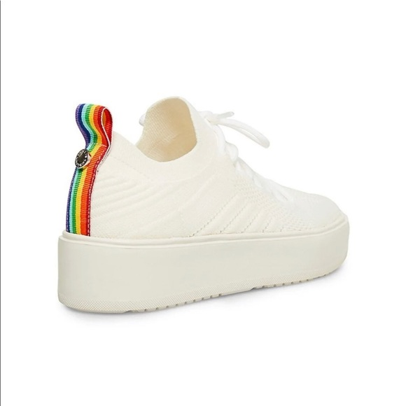 Brixie Pride Platform Sneakers Size 9